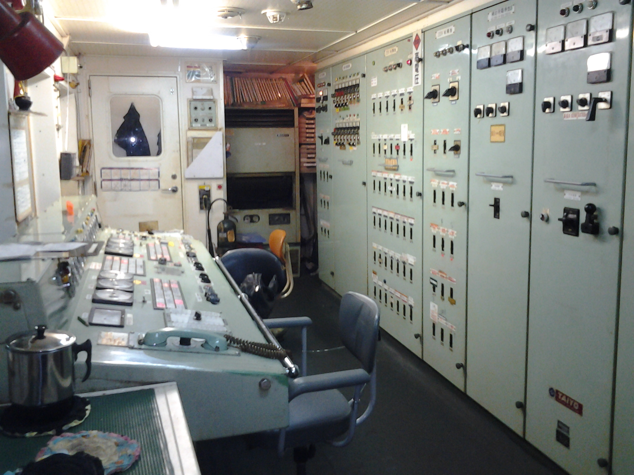 engine-control-room